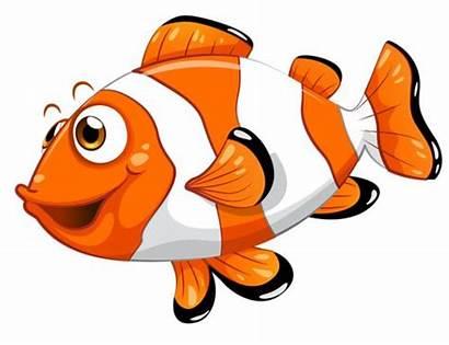 Sea Clipart Animals Cartoon Clip Fish Creatures