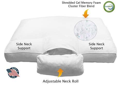 best orthopedic pillow 5 best pillows for back sleepers jan 2018 pillow