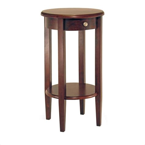how tall are end tables concord round tall end table 94220