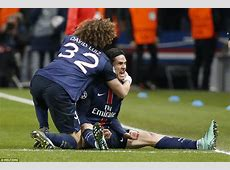 Paris SaintGermain 21 Chelsea Late Edinson Cavani