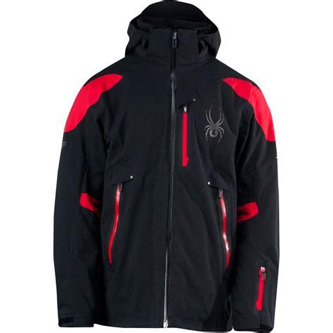 spyder leader insulated ski jacket mens peter glenn