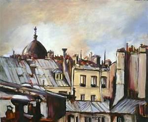 Peinture De Paris Poissy : paris sorbonne brice mal zieux peinture toile huile ~ Premium-room.com Idées de Décoration