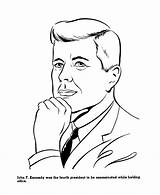 Coloring Presidents Kennedy John Sheets History Usa President Jfk Printable Printables United Sheet Colouring States Activities Activity Kid Presidential Fitzgerald sketch template