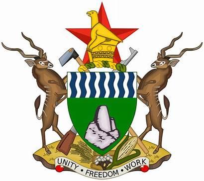 Zimbabwe Wikipedia Politics Arms Coat Svg Wiki