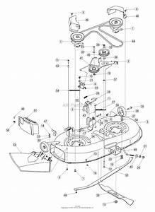 Troy Bilt 13at609g766 Super Bronco  2005  Parts Diagram