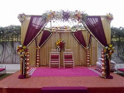 Stage Decoration Marriage Decorations Flower Indian Simple