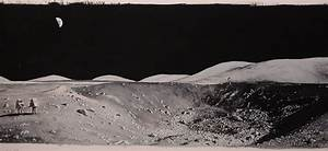 Panoramic Photos of Moon Landing - Pics about space