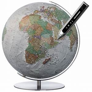 Mini Globe Terrestre : globe terrestre duo alba swarovski interactif ~ Teatrodelosmanantiales.com Idées de Décoration