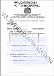pet relocation export health certificate apha ehc quarantine dog cat horse bird