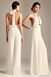 jumpsuit wedding the wedding trend for 2014 the jumpsuit vponsale wedding custom dresses