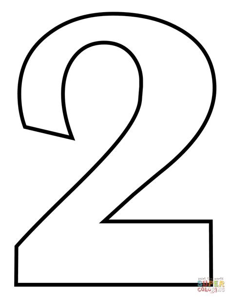 number  coloring pages coloring home