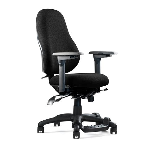 sheepskin chair comfortable black ergonomic office chairs with footrest