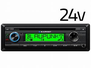 Blaupunkt Detroit 2024 24v Radio With Bluetooth Cd Player