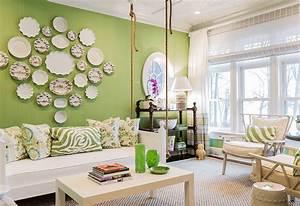 Green, Living, Room, Ideas