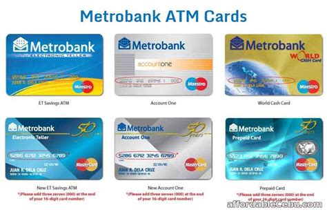 how to apply for metrobank atm card bank account banking