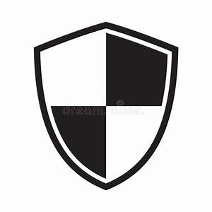 Shield Icon  Protection Icon  Sign Stock Illustration