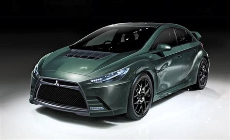 New Mitsubishi Evolution by Mitsubishi Evo Diesel Hybrid Future Cars From Mitsubishi