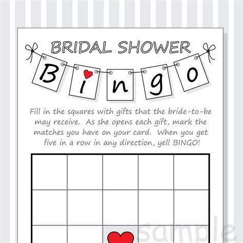 bridal shower bingo template diy bridal shower bingo printable cards pennant design