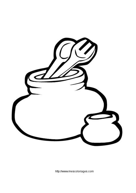 dessin de cuisine à imprimer coloriage objets de la maison cuisine à colorier
