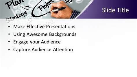 project powerpoint template  powerpoint templates