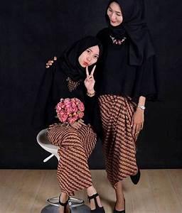 Gaya Hijab Untuk Kebaya Perpisahan Model Hijab Untuk Kebaya