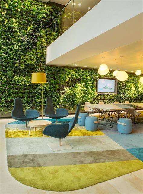 idee deco bureau eco friendly le jardin vertical est la