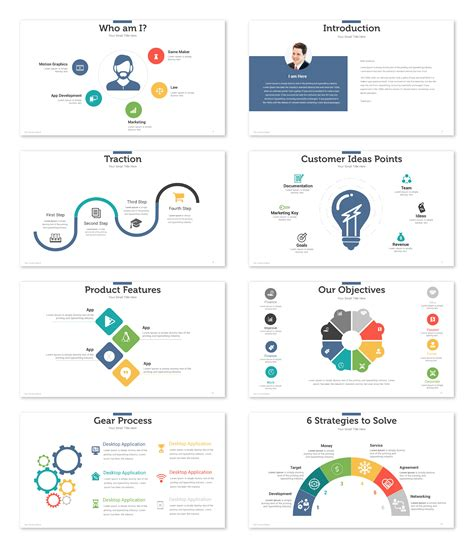 free pitch deck template startup pitch deck template presentations template