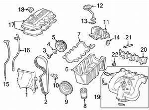 Ford Focus Engine Crankshaft Pulley  1 9 Liter  1 9l  2 0l Sohc  Focus  Sohc