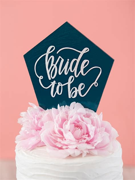 you have to see these diy custom chipboard cake toppers