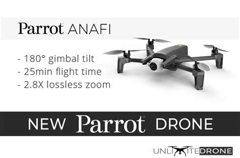 parrot drone anafi unlimitedrone