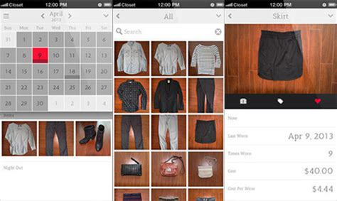 the top five apps to organize your wardrobe butterboom