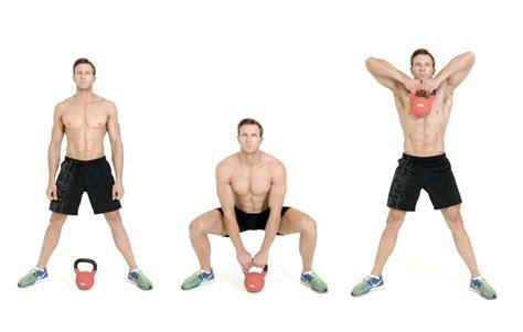 kettlebell sumo pull ezyshine squat workouts loss weight fitness guide minutos ejercicio saltos comienza temporizador configura pesas realizando calentamiento unos