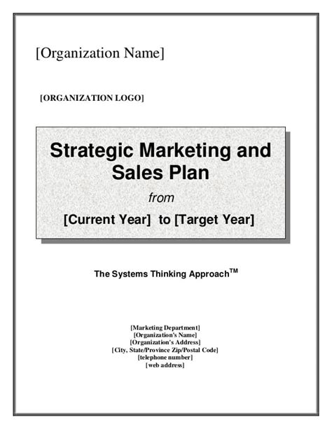 sales strategy template 7 free sales plan templates excel pdf formats