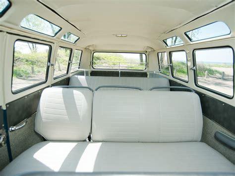 volkswagen van inside 1963 67 volkswagen t 1 deluxe samba bus van classic