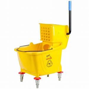 Bucket With Wringer | Lavex 36 Quart Mop Bucket & Wringer ...