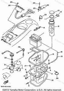 Yamaha Waverunner Parts 1996 Oem Parts Diagram For Electrical 2