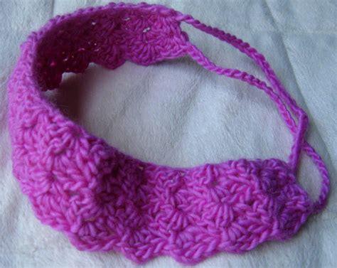 crochet hair band mountain crochet band free pattern
