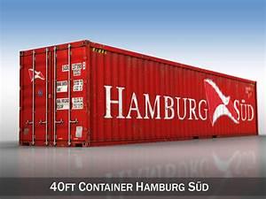Container Kaufen Hamburg : 40ft shipping container hamburg sued 3d model obj 3ds fbx c4d lwo lw lws ~ Markanthonyermac.com Haus und Dekorationen