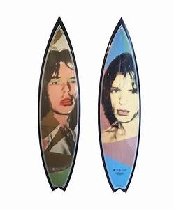Andy Warhol Luxury Surfboards