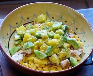 Salade Poulet Avocat : une d licieuse salade de poulet aux mangues et avocats ~ Melissatoandfro.com Idées de Décoration
