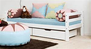 Kinderbett 90x200 Mit Schubladen : kinderbett 90x200 in kiefer massiv wei kids heaven ~ Bigdaddyawards.com Haus und Dekorationen
