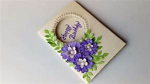 Beautiful Birthday card idea-DIY Greeting Cards for ...