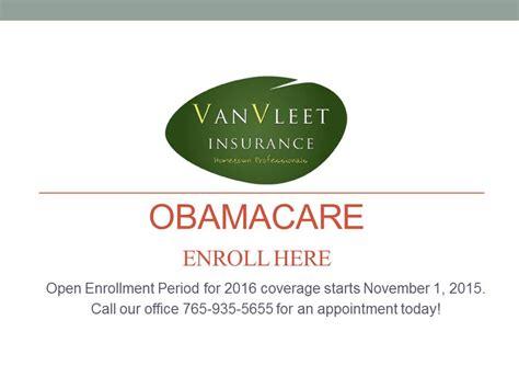 On the street of glen miller parkway and street number is 1. OBAMACARE - Enroll Here - Van Vleet Insurance