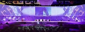 Global Business Forum: 3D stage design