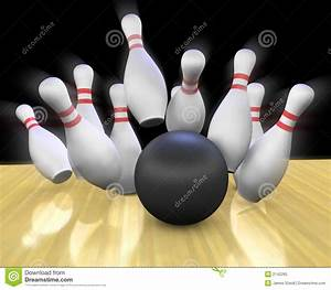 Bowling Strike stock illustration. Illustration of ...