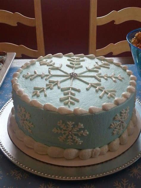 ideas  snowflake cake  pinterest snow