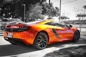 McLaren MP4 12C In Volcano Orange YouTube