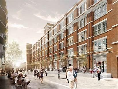 Islington Square London Development Independent Homes Garden