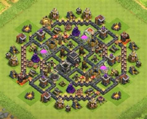 10 best th8 hybrid base top 10 best th8 trophy push bases 2017 cocbases 10 b