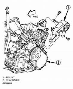 2003 Dodge Neon Motor Mounts Engine Mechanical Problem